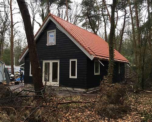 Bouwbedrijf van wieren Drachten vakantiehuisje Norg Eindresultaat