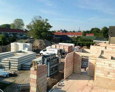 Drachten Bouwbedrijf van Wieren nieuwbouw